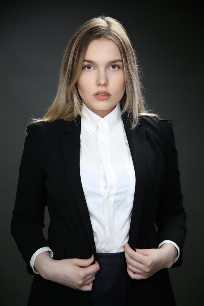 Бизнес портрет для девушки